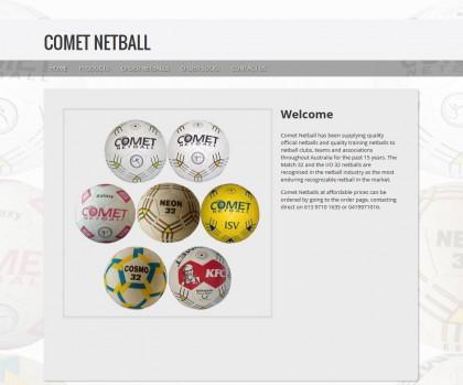 comet_netball_website