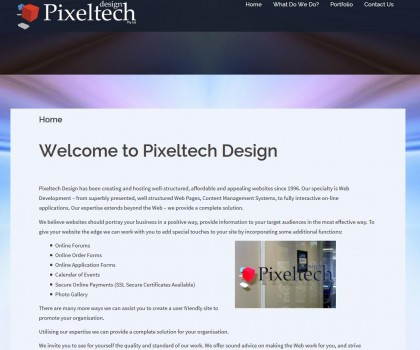 pixeltech_design_website